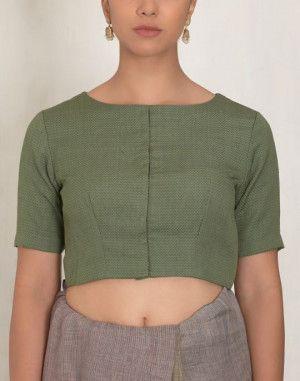 Herringbone blouse