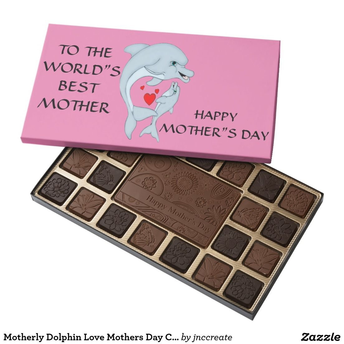 Motherly Dolphin Love Mothers Day Chocolates
