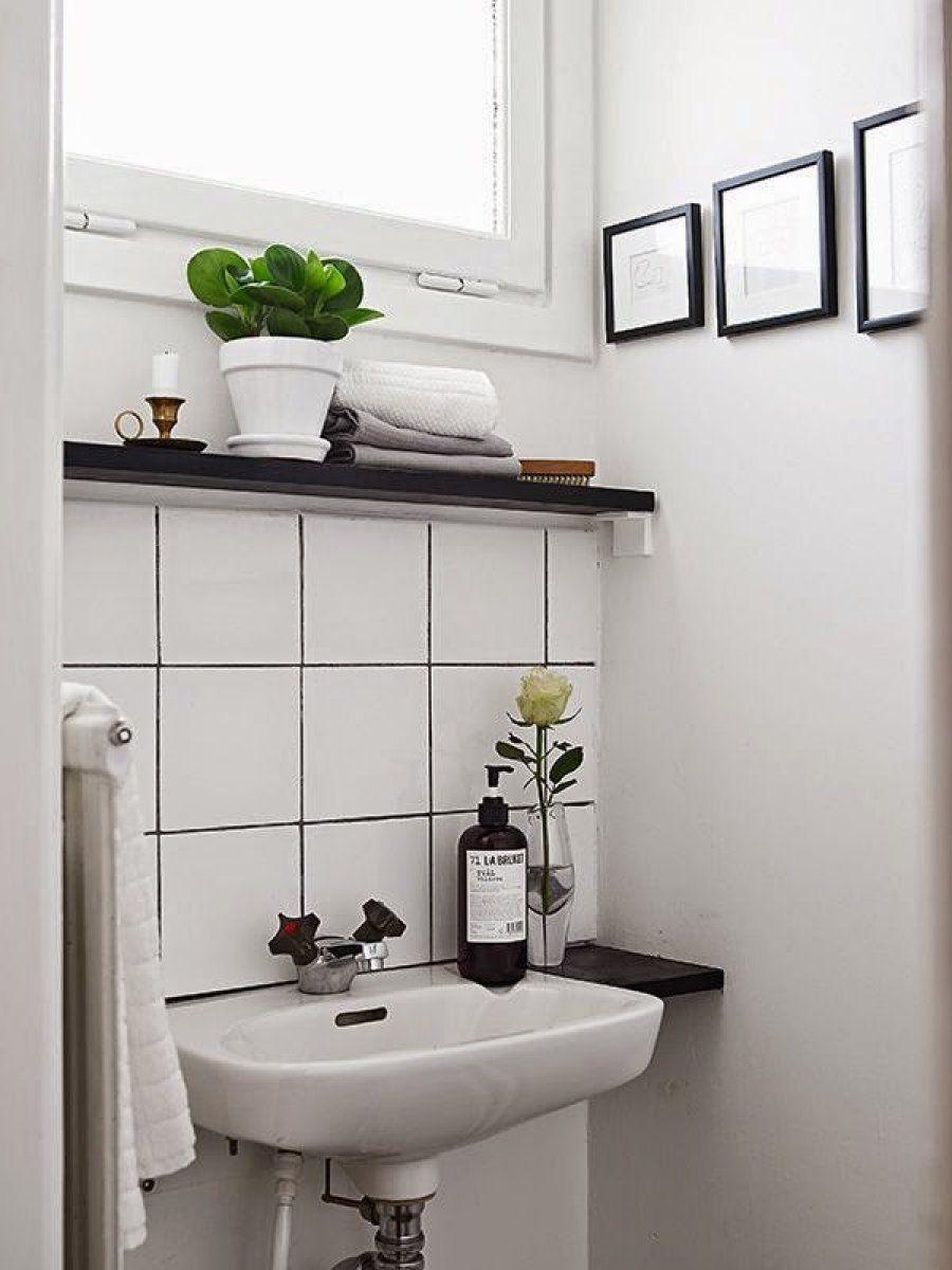 16 ideas para un baño pequeño y low cost | Baño, Baño pequeño y ...