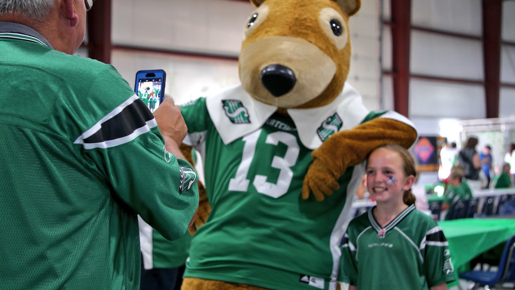 Saskatchewan Roughriders on Saskatchewan roughriders