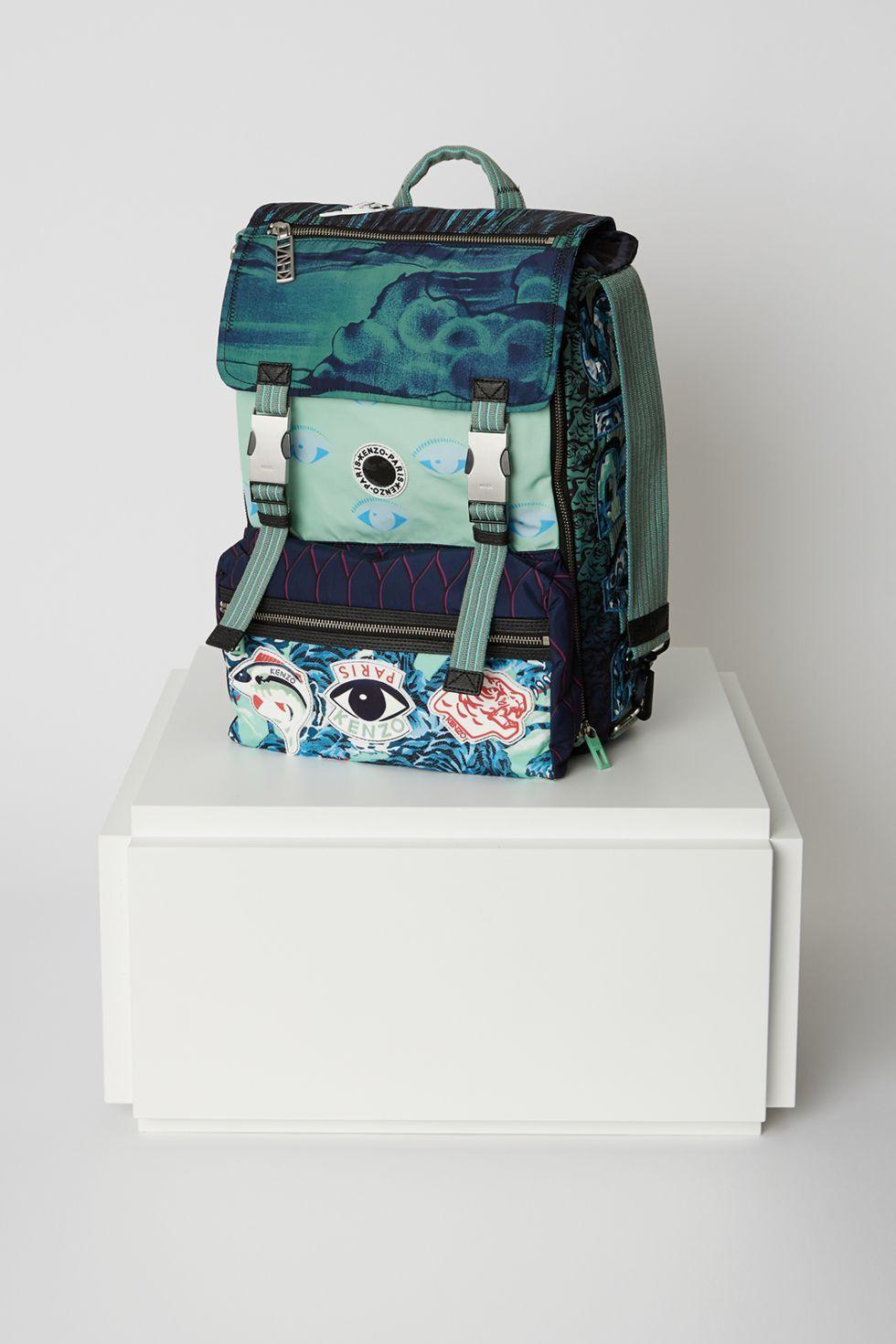 Kenzo Multi Logo Backpack - Kenzo Bags   Wallets Women - Kenzo E-shop 6ccc0ed39f