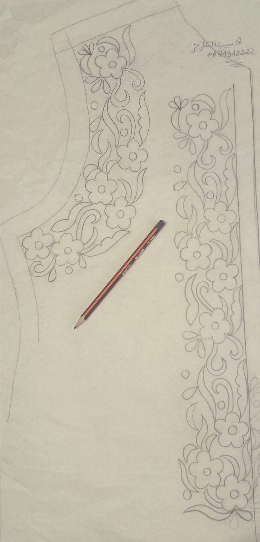 Pin de swapna en embroidery | Pinterest | Bordado, Blusa bordada y ...