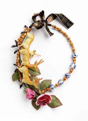 Beautiful necklace from extravagant jewelry artist Daniel von Weinberger