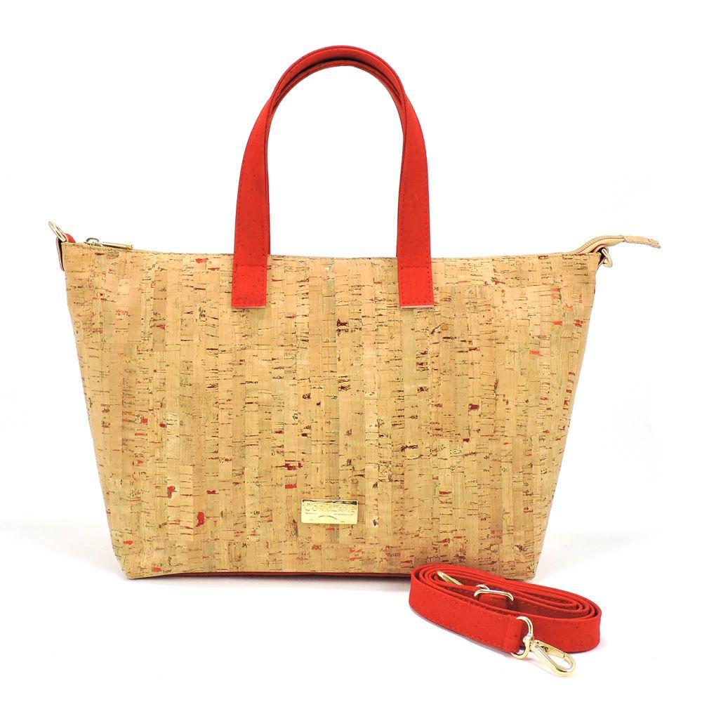 2ecff3b6d Shoulder bag red flecks | Women CorkLane bags in 2019 | Bags, Shoulder Bag,  Shoulder