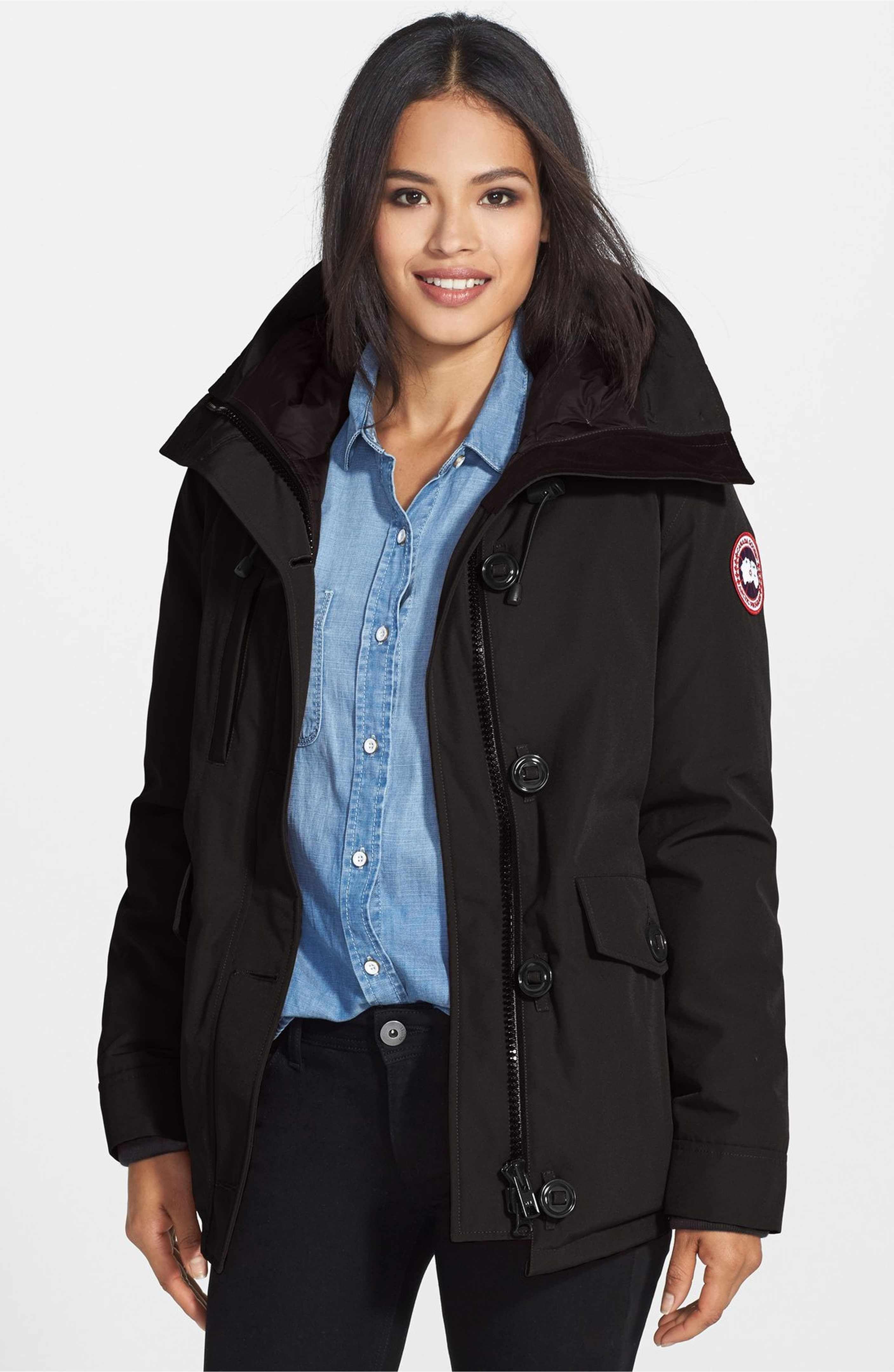 canada goose jacket backpack