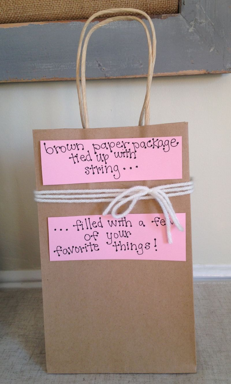 Homemade Valentines Day Gift Bag Idea For Him