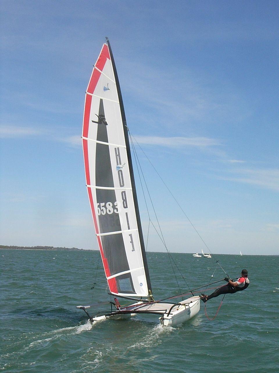 Hobie 17 Catamaran, Sailing catamaran, Sailing