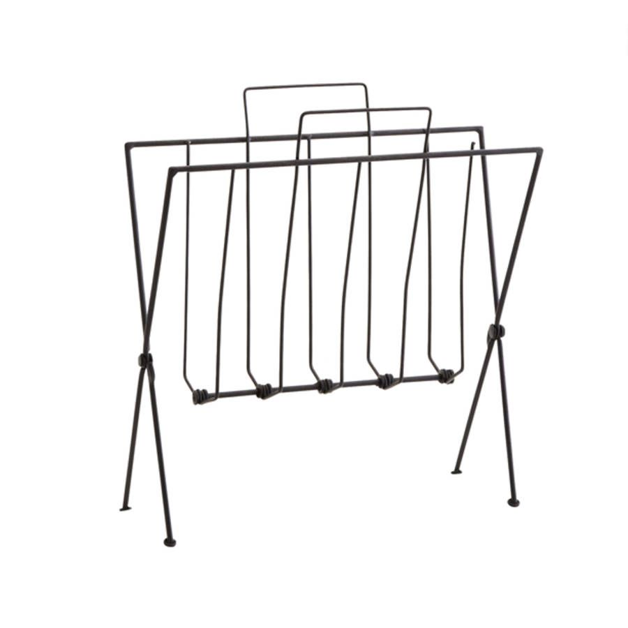 Antique Copper Or Black Wire Magazine Rack | PROPOSTA ARREDI MDS NY ...
