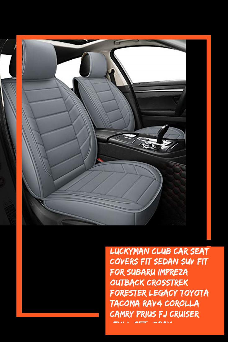 Luckyman Club Car Seat Covers Fit Sedan Suv Fit For Subaru Impreza Outback Crosstrek Forester Legacy Toyota Tacoma Rav4 Corolla Ca In 2020 Fj Cruiser Car Seats Impreza