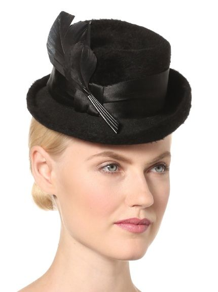 7bbdde7fadf Leah C. Couture Millinery Women s Mini Top Hat