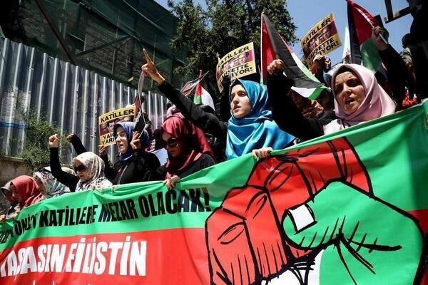 العالم يدعم فلسطين صور الاحتجاجات من حول العالم Global Voices الأصوات العالمية Comic Book Cover Comic Books Istanbul