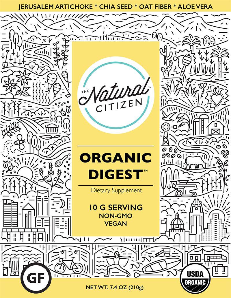 The Natural Citizen specialise in organic non gmo vegan whole