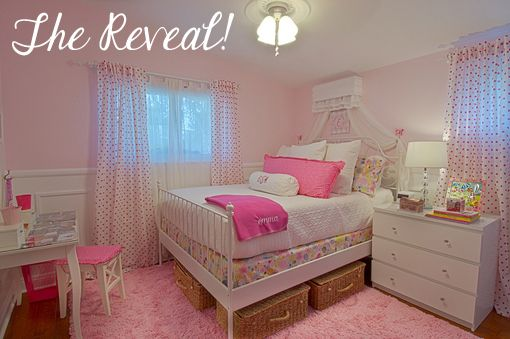 Decorating Ideas For A 6 Year Old Girl S Room Pink Girl Room
