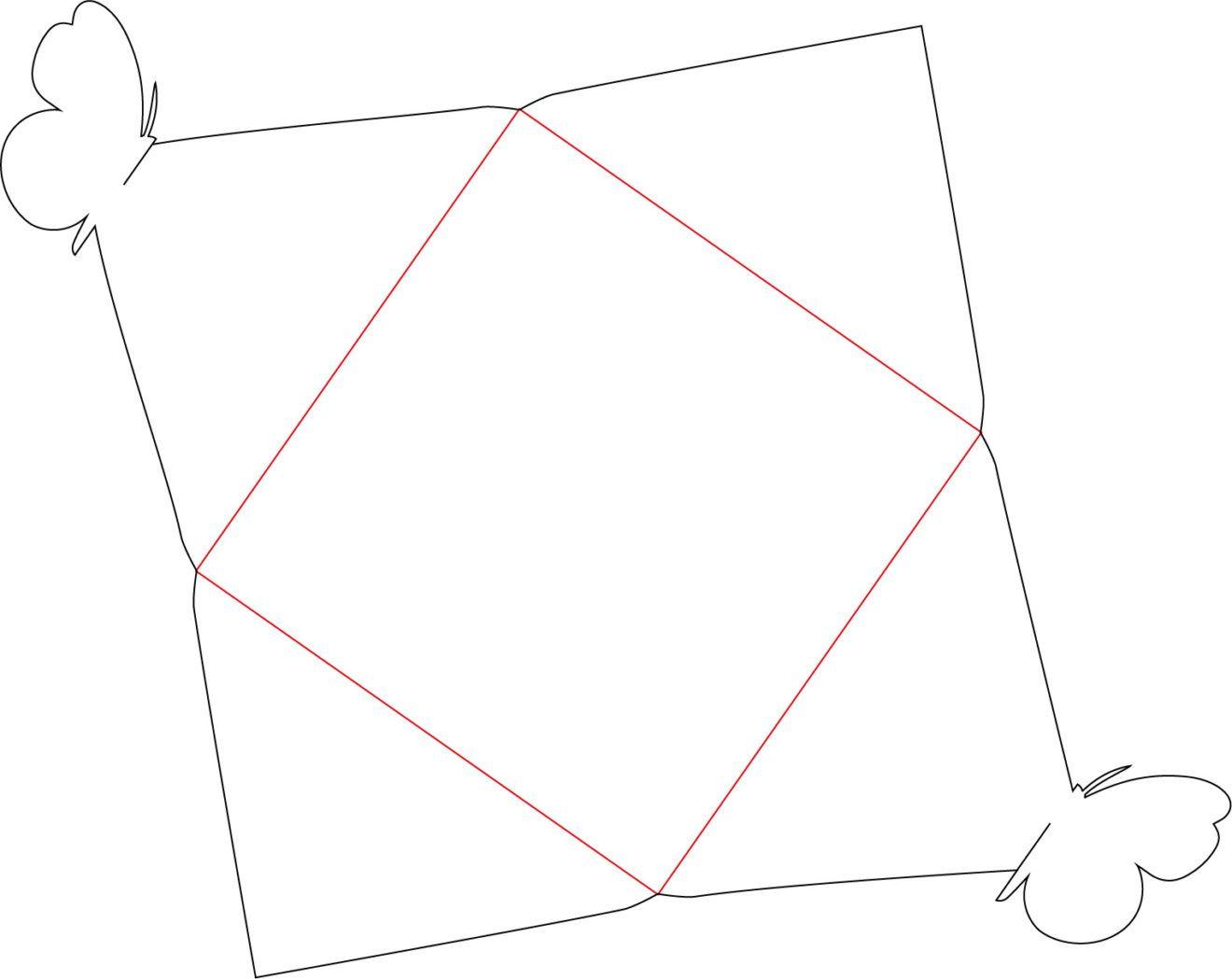 Briefumschlag basteln & Gutschein verpacken [Vorlage & Plotterfreebie] - kugelig.com