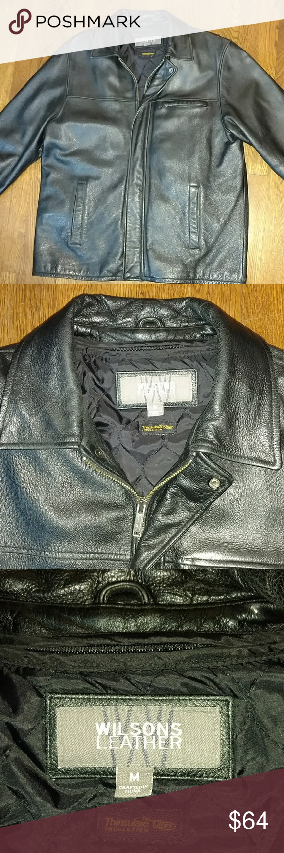 Wilsons leather coat In very good clean, no wear condition