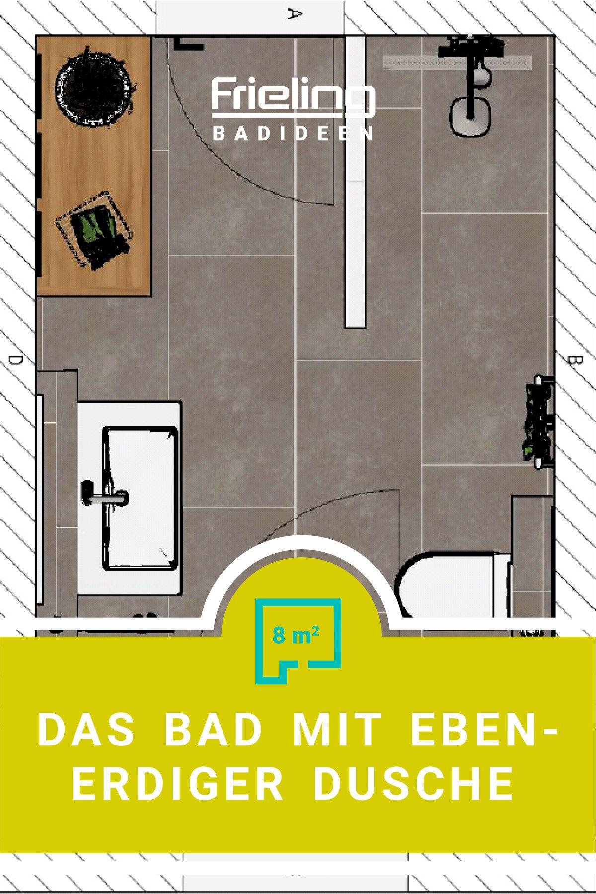 Das Bad mit ebenerdiger Dusche   klein, fein & barrierefrei ...
