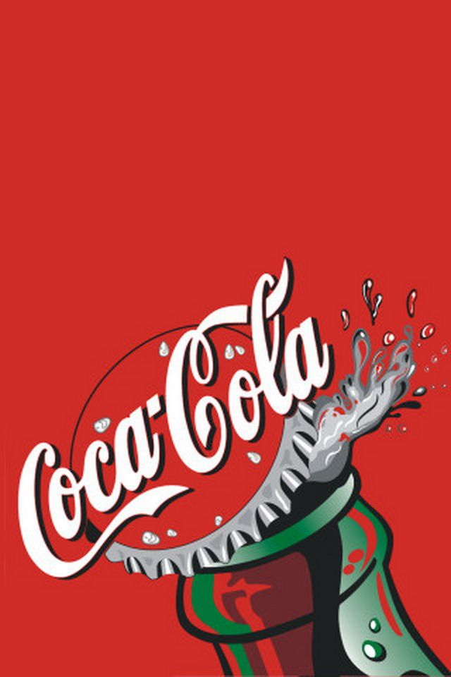 COCA COLA IPHONE WALLPAPER BACKGROUND