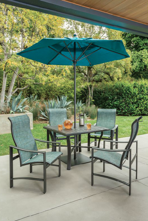 Kenzo Sling Outdoor Dining Spaces Patio Patio Furniture Collection