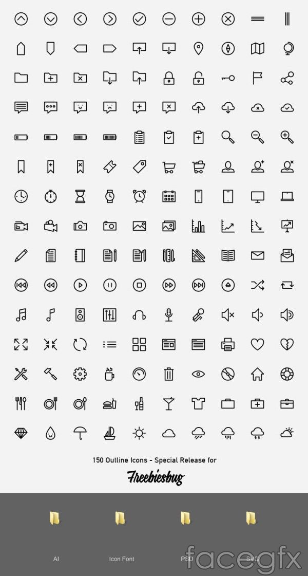 150 wireframe icons vector | Free Vectors | Pinterest | Wireframe ...