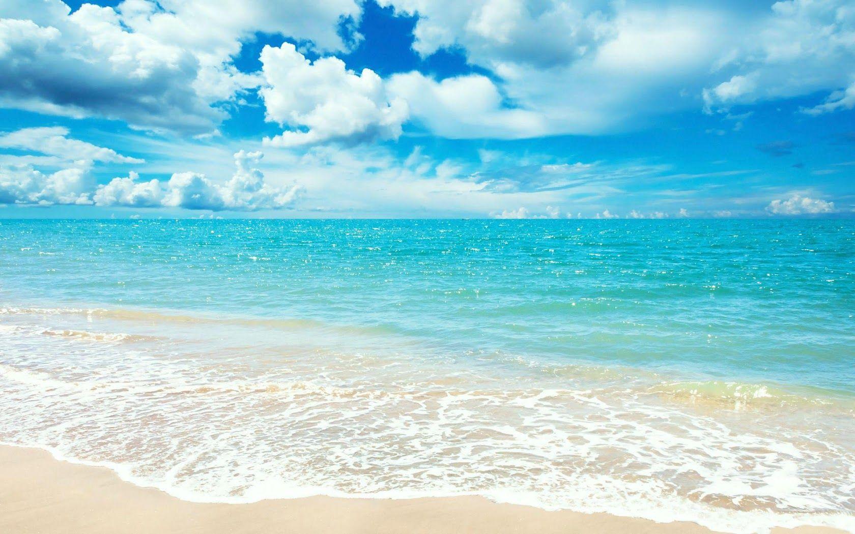 Beach Scene Beach Wallpaper Ocean Wallpaper Beach Desktop Backgrounds