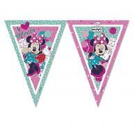 Závesné vlajky z plastu Minnie Dots,