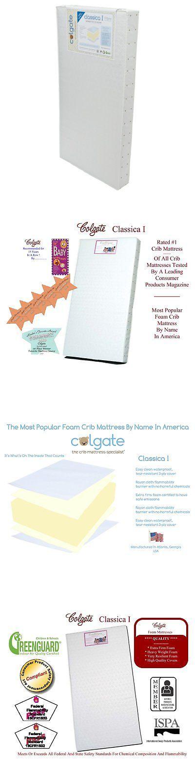 Crib Mattresses 117035: Colgate Classica I Foam Crib ...