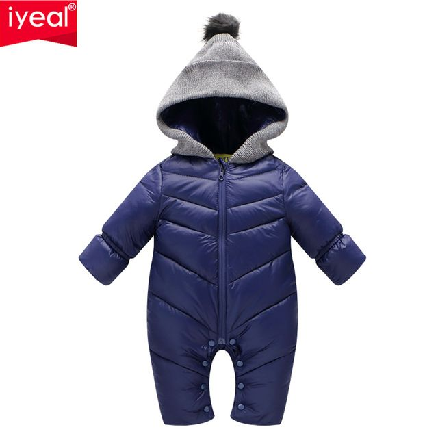 a313d4deb Today s deals for baby 30% off Newborn Baby Romper Winter Overalls ...