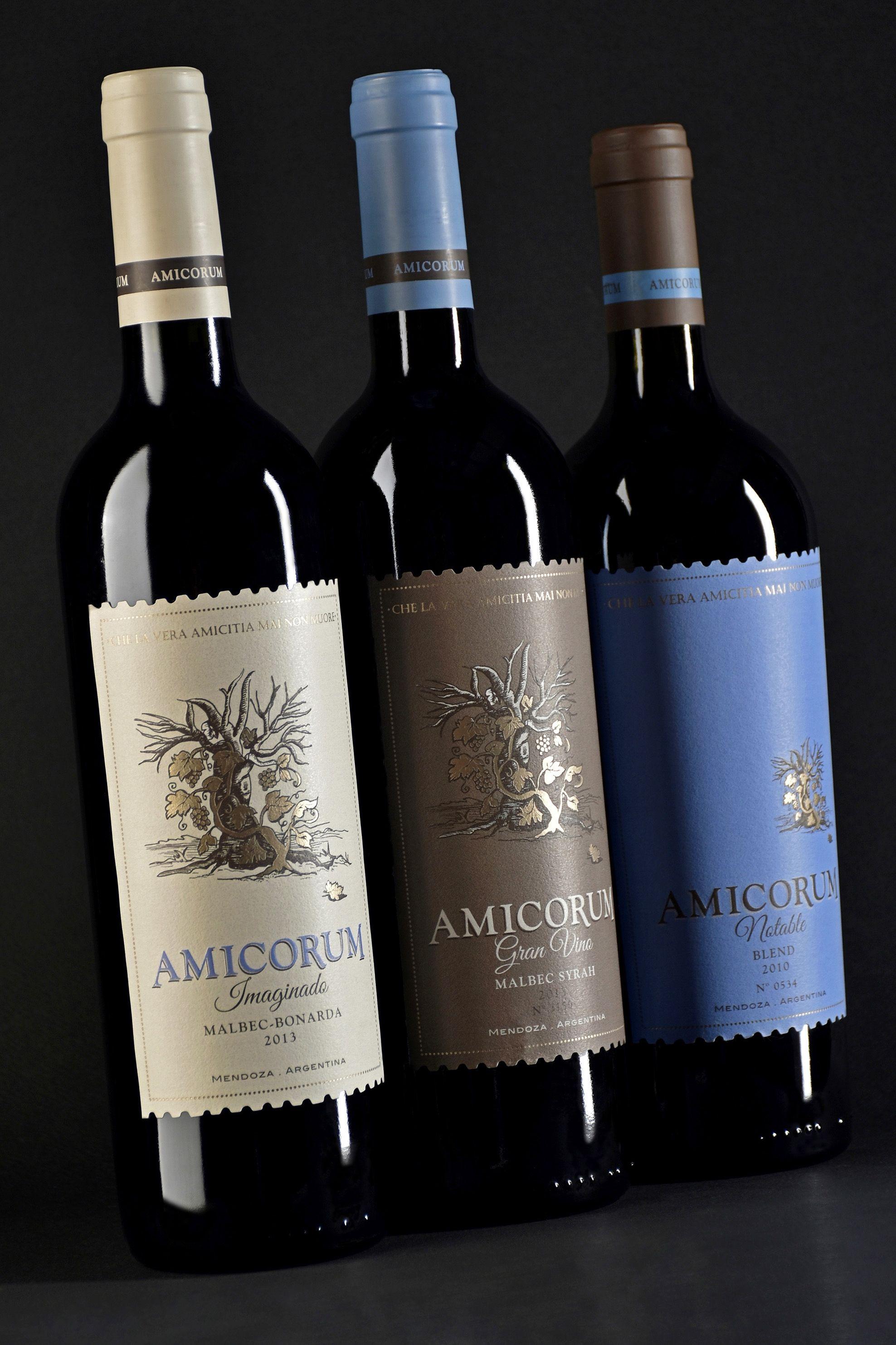 Dise o etiqueta de vino wine label design bodega lagarde - Diseno de bodegas ...
