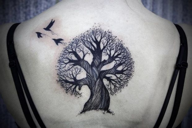 Tattoofriday David Hale Back Tattoo Tattoos Bird Tattoo Back