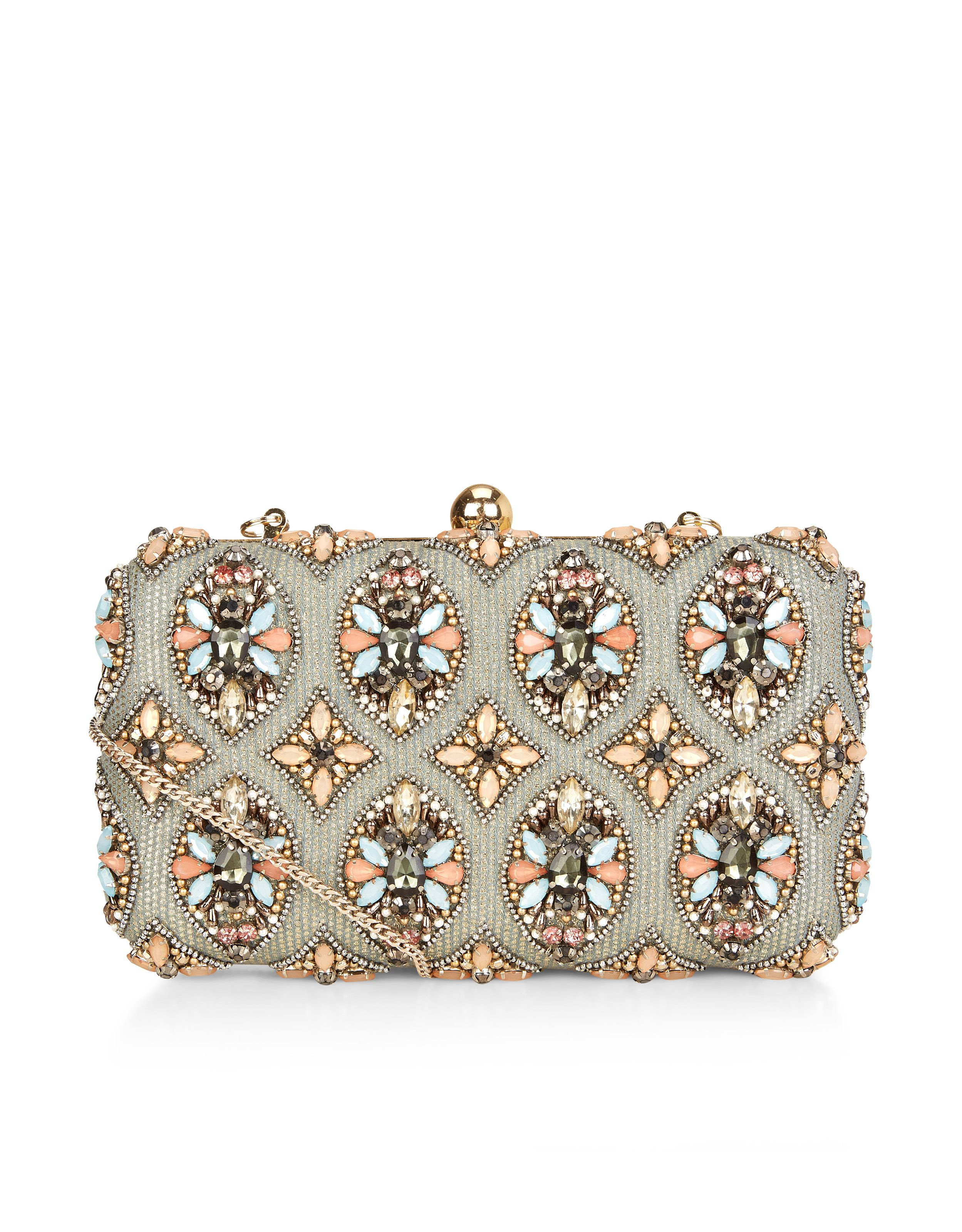 b76259230005 Ava Hardcase Clutch Bag