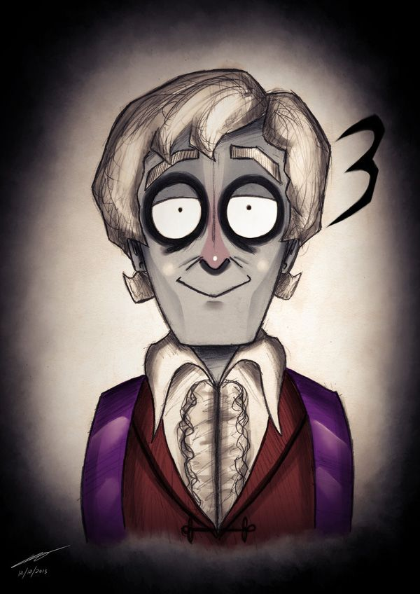 Doctor Who by Tim Burton - The #3 Doctor