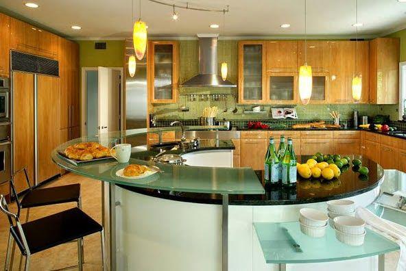 40 diseños de modernas islas de cocina, ideas con fotos | Pinterest ...