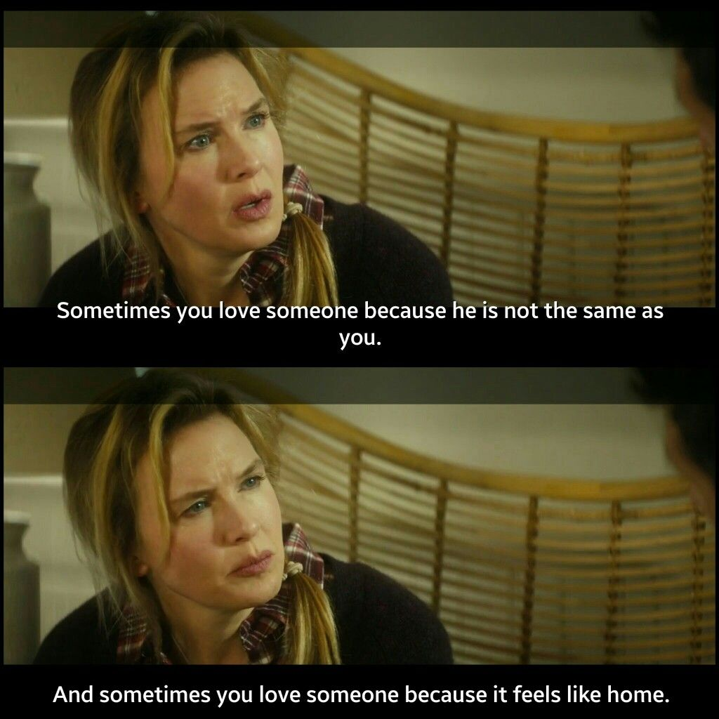 Bridget jones baby : Sometimes you love someone because