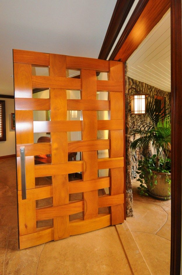Merveilleux Gorgeous Custom Door In Most Expensive Oahu Home For Sale.