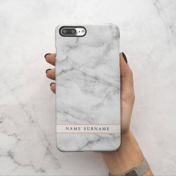 iphone 8 plus hard case initial