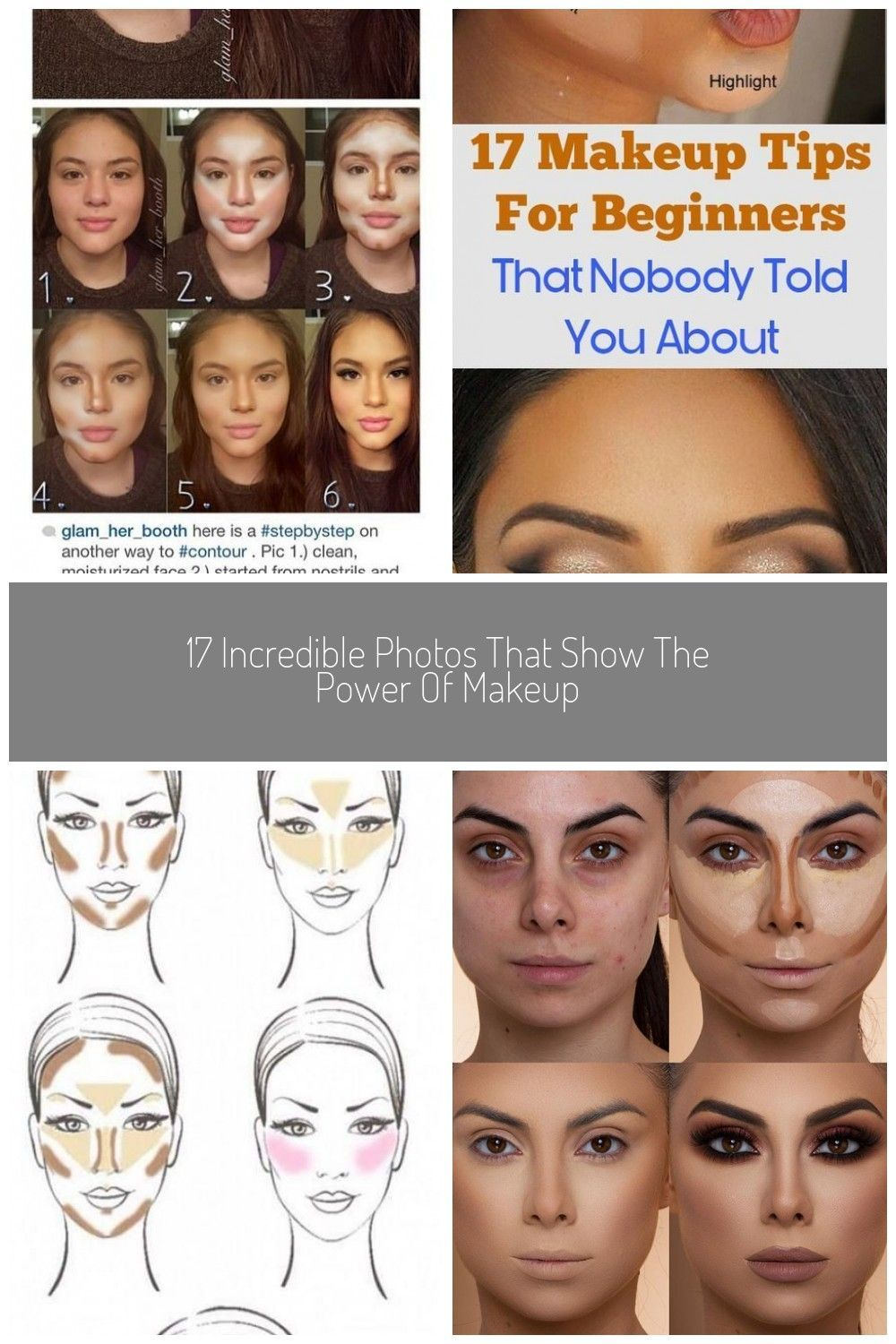 Photo of Step-By-Step makeup contouring! Love it, thanks glam_her_booth!! #contour makeup…