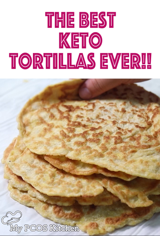The Best Keto Tortillas Ever