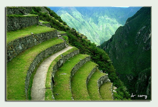 Terrazas Inca Machu Picchu Places To See Hiking Tours