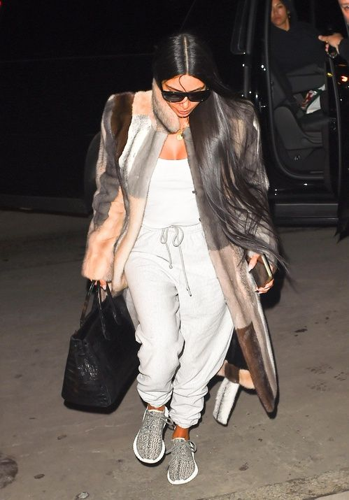bfe428afd0 Kim Kardashian s new look at New York Fashion Week in 2019