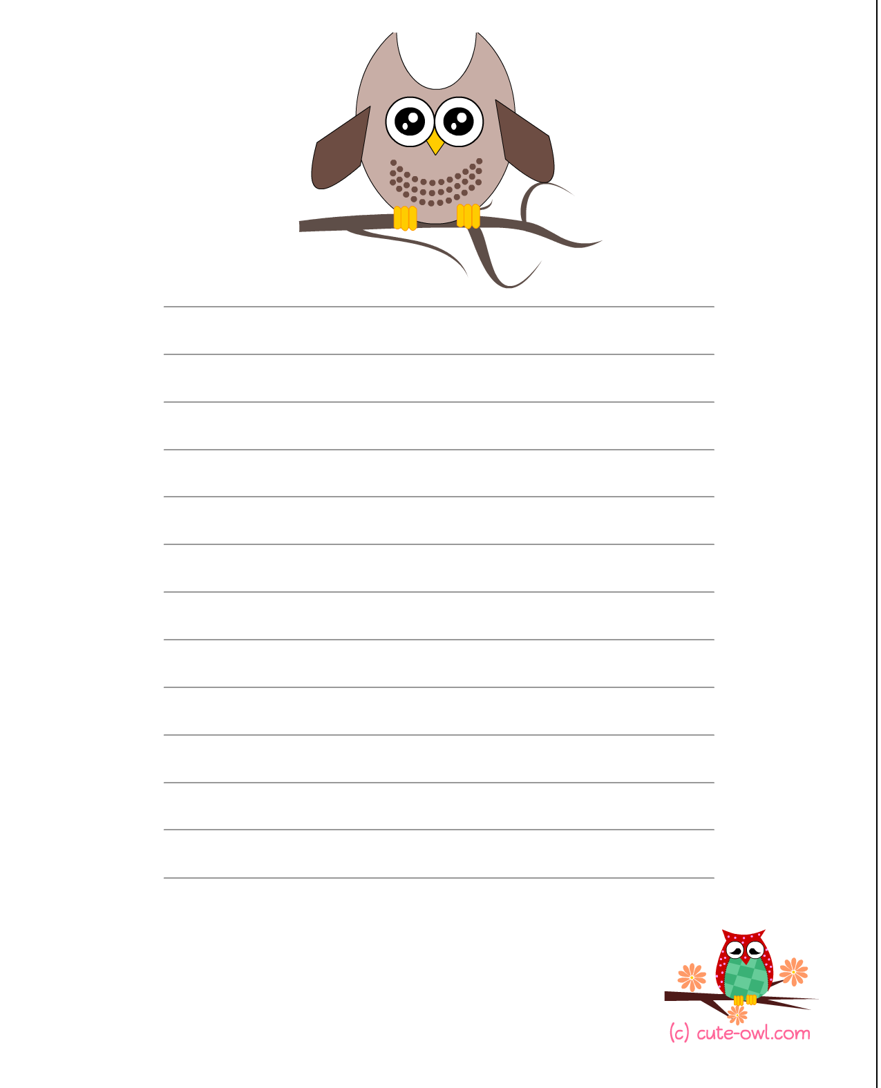 Cute Owl Owl Theme Baby Shower Games