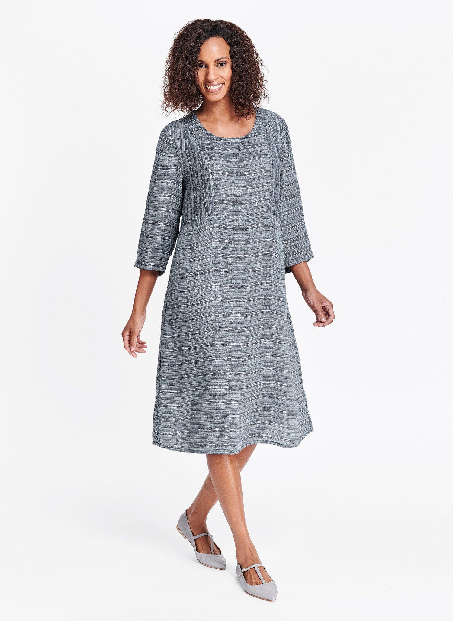 e18989645f3bde Angle Dress (Transition 2018) – Linen Woman Flax Clothing, Womens Linen  Clothing,