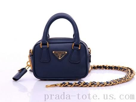 Authentic #Prada BL0705 Handbags in Sapphire Blue onnline sale