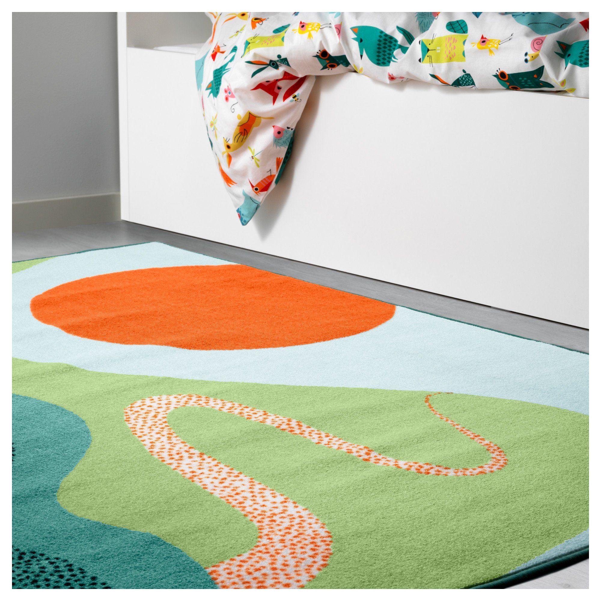 Tapis Anti Bruit Appartement un tapis poétique pour enfant | ikea, tapis, tapis multicolore