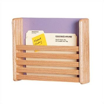 One Pocket Medical  File Chart Holder with Slats Medical, Chart