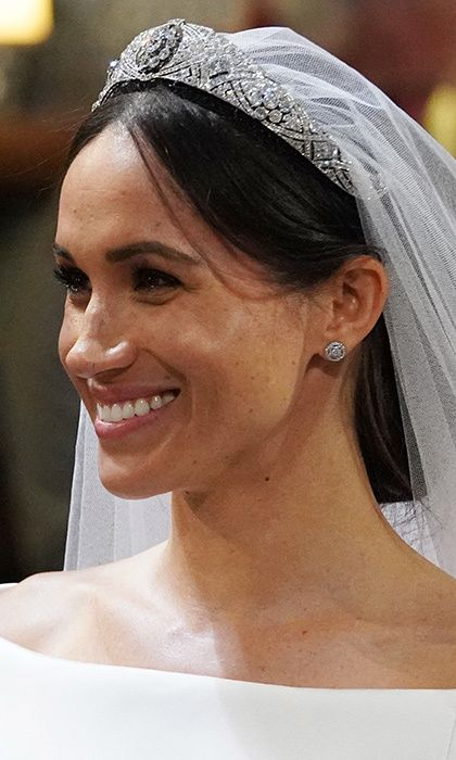 the duchess of sussex as she married prince harry on may 19 2018 in st george s cha meghan markle wedding dress harry and meghan wedding meghan markle wedding meghan markle wedding dress