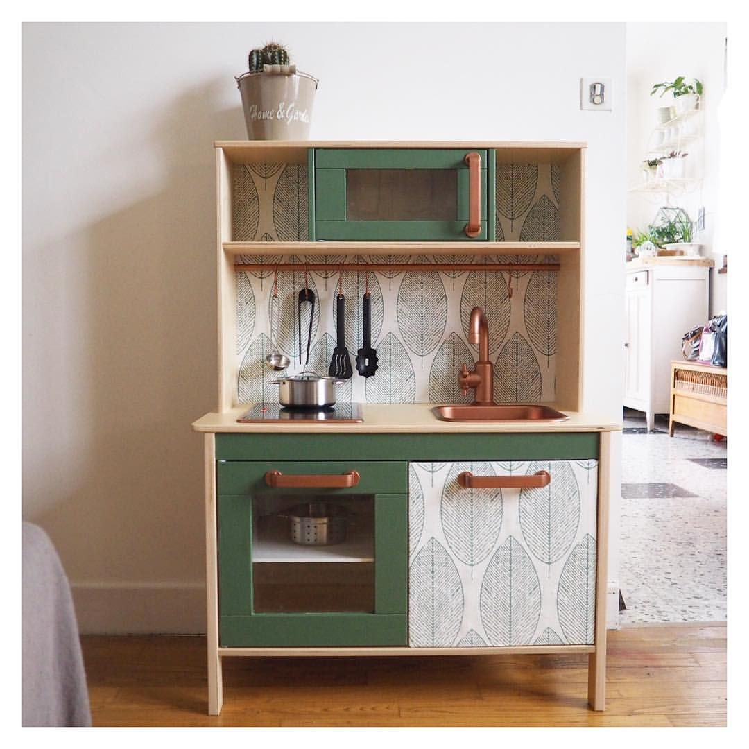 Cuisine En Bois Lidl 2019: La Petite Cuisine Ikea Customisée Pour Le Noël D'Auguste