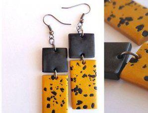 Photo of Stickerei Schmuck Ohrringe Polymer Clay 43+ Ideen