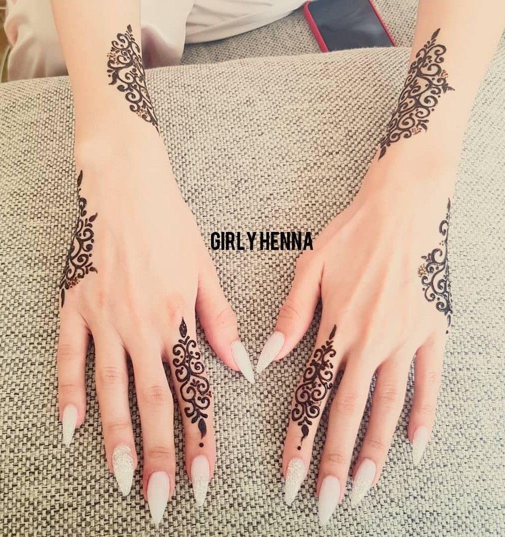 Pin By Afafa On Henna Happy Simple Henna Tattoo Henna Tattoo Designs Henna Designs Hand