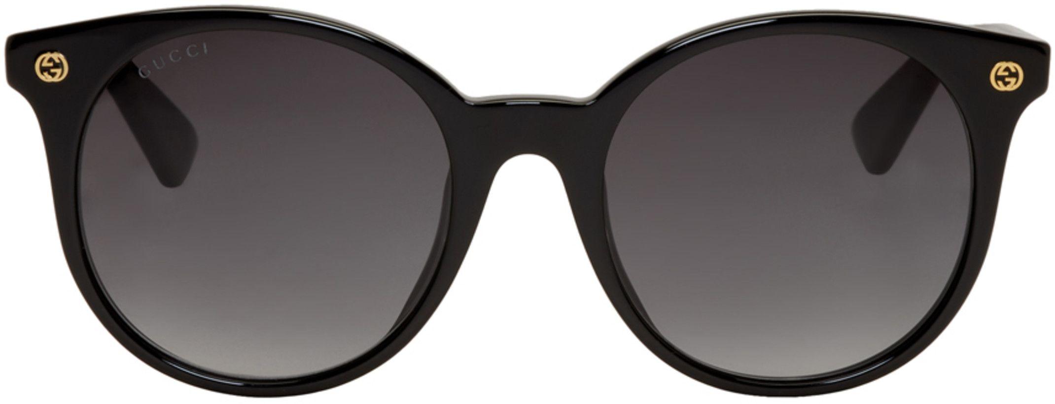 990b408c0dc Gucci Black Pantos Sunglasses