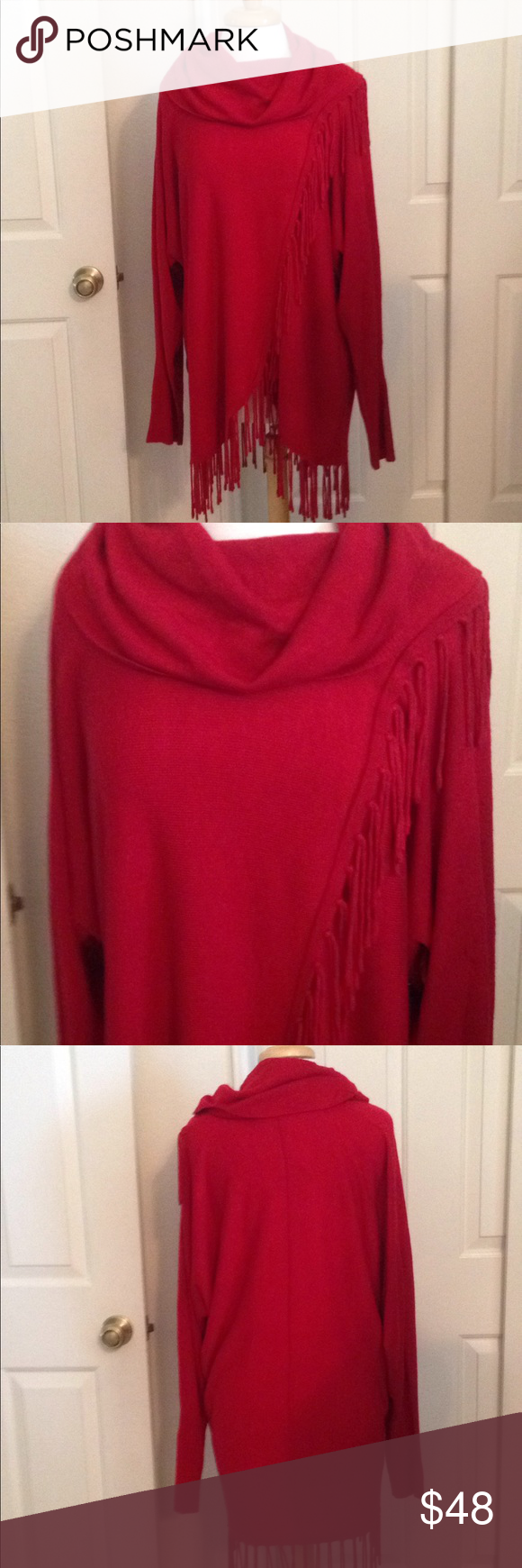 NWT sweater NWT | Red sweaters, Customer support and Delivery